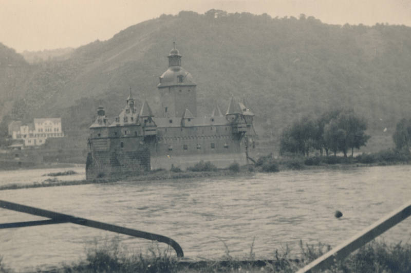 Berg, burg, Burg Pfalzgrafenstein, Falkenau, fluss, insel, Inselburg, Kaub, Pfalz bei Kaub, Rhein