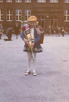 Judith's erster Schultag