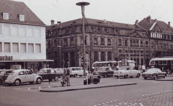 Hugenottenplatz Erlangen