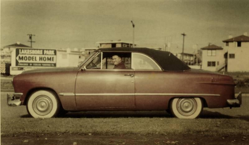 Amerika, auto, cabrio, ford, KFZ, PKW