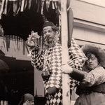 Clown und Cowgirl