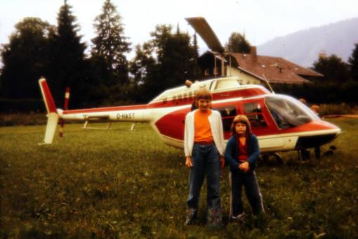 Am Helikopter