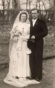 Hochzeitsmode 1948