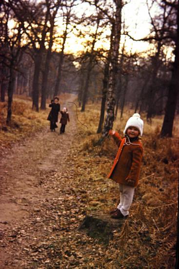 familie, freizeit, Kindheit, mütze, spaziergang, winter