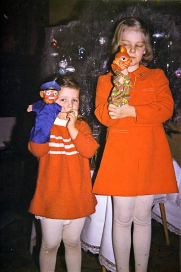 christbaum, handpuppe, kasperle, Polizist, Weihnachten