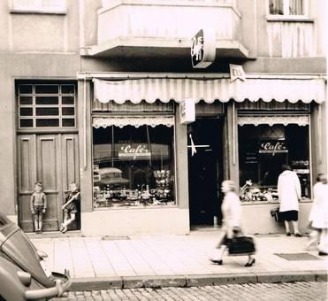 1954   Café Nießen Pontstraße