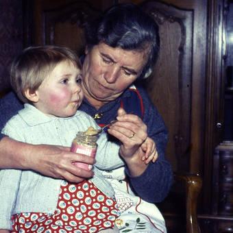 Zu Besuch bei Oma