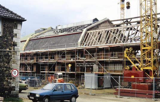 Umbau in Stolberg