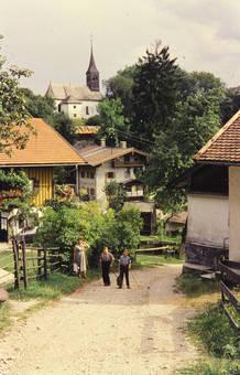 Spaziergang durchs Dorf