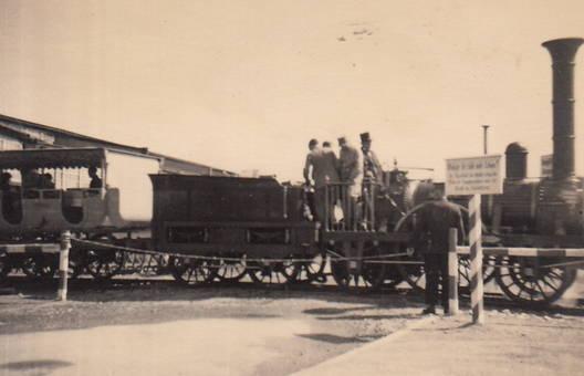 Historische Bahnfahrt