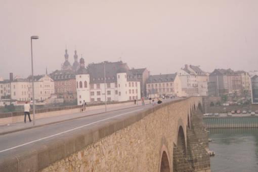 Auf der Balduinbrücke