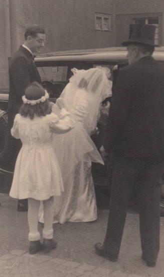 auto, blumenmädchen, Braut, Hochzeit, KFZ, köln, Köln-Riehl, PKW
