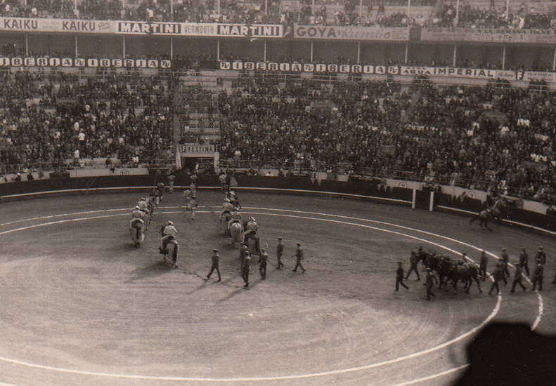 arena, barcelona, Spanien, stierkampf, Stierkampfarena