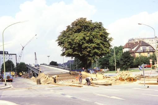Brücke an der Alfredstraße
