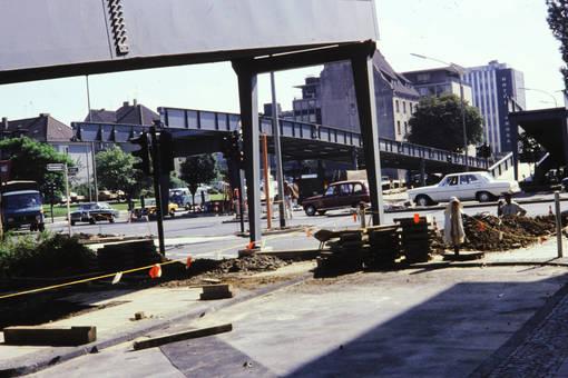 Brückenbau in Essen
