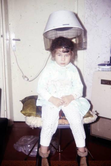 Haube, kind, Kindheit, Schlafanzug, Trockenhaube