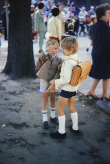 Einschulung, Erster Schultag, familie, kind, Kindheit, schule, Schüler, Schulranzen
