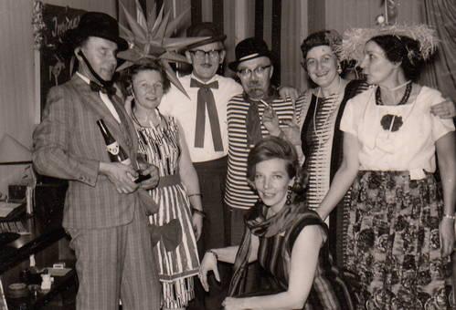 Gruppenbild an Karneval