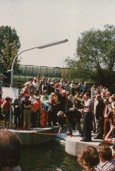 Benninghausen, boote, Bootsgasse, göttingen, hund, kanusport, Liesborn, Straßenlampe