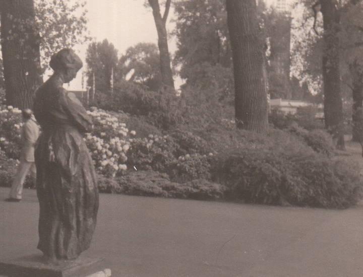 Bundesgartenschau, köln, statue