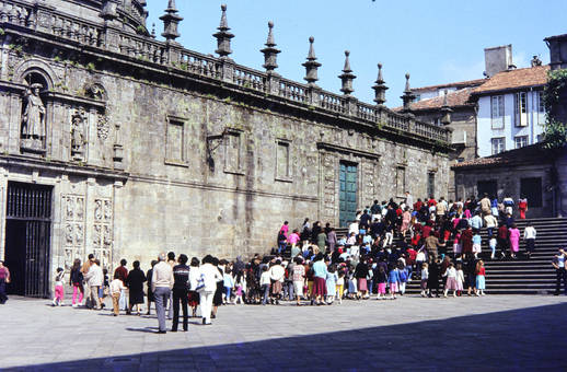 Wallfahrt nach Santiago