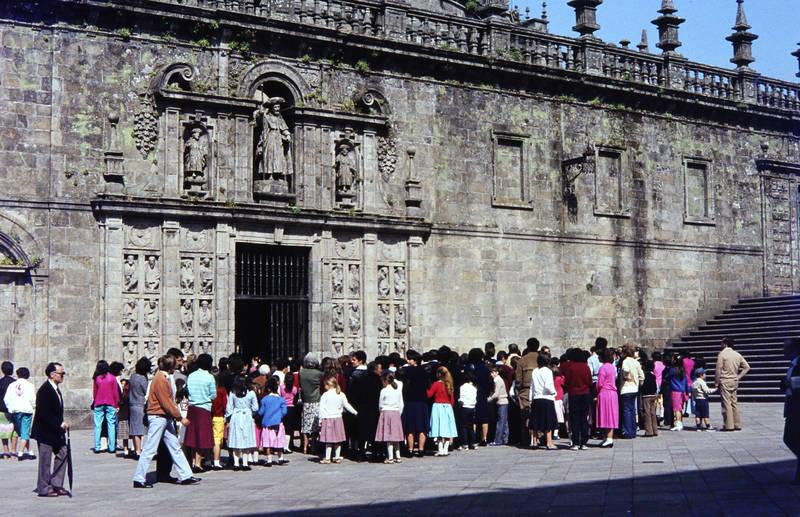 ferien, heilige pforte, Kathedrale, mode, puerta santa, reise, santiago de compostela, Spanien, urlaub, wallfahrt