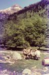 Picknick in den Pyrenäen