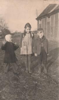 Kinder dem Bauernhof