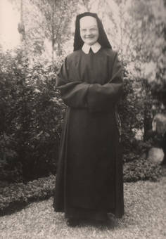Ordensschwester Heimaturlaub