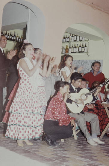 Flamenco, Gitarre, granada, kleid, mode, musik, musikinstrument, Spanien, tanz, tanzen