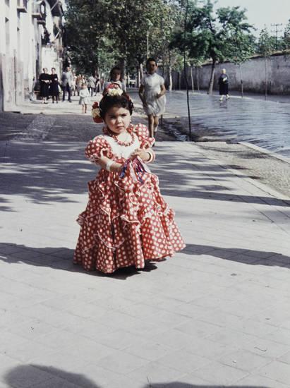 ferien, Flamenco, flamenco kleid, granada, kind, Kindheit, kleid, reise, Spanien, tanz, urlaub