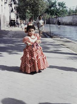 Kleine Flamencotänzerin