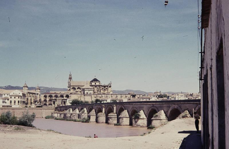 andalusien, brücke, Córdoba, El Puente Romano, ferien, fluss, Guadalquivir, Kathedrale, Mezquita, Mezquita-Catedral, Moschee, reise, Spanien, spanische Brücke, urlaub