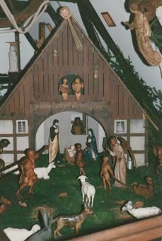 Krippe von Julius Mormann