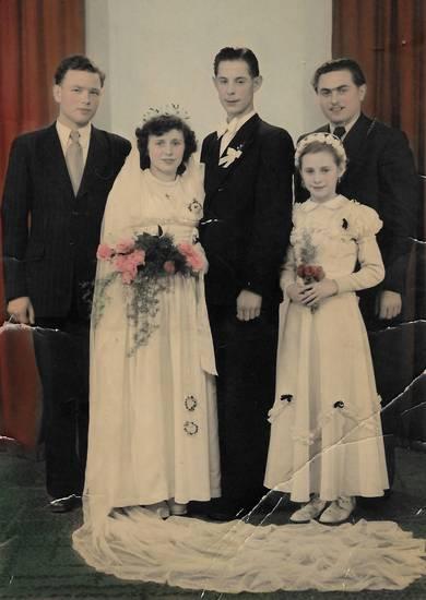 blumenmädchen, brautkleid, Brautpaar, Hochzeit, Hochzeitspaar, trauzeuge