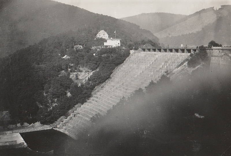 1930, Damm, euskirchen, kaskaden, seehof, Sperrmauer, staudamm, staumauer, Urft, Urftsee, Urftseesperrmauer, Urftseestaumauer, urfttalsperre