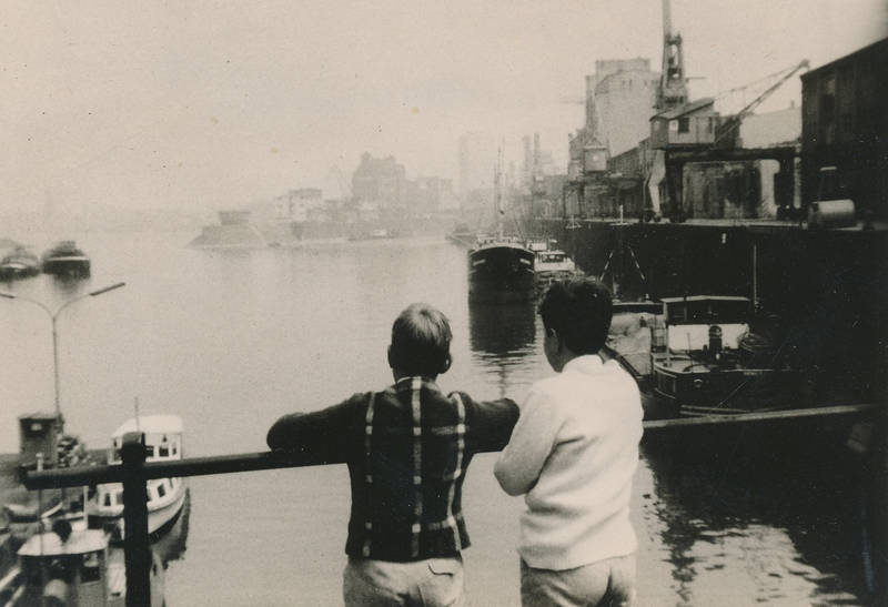ausflug, Düsseldorf, Hafen, Kindheit, medienhafen