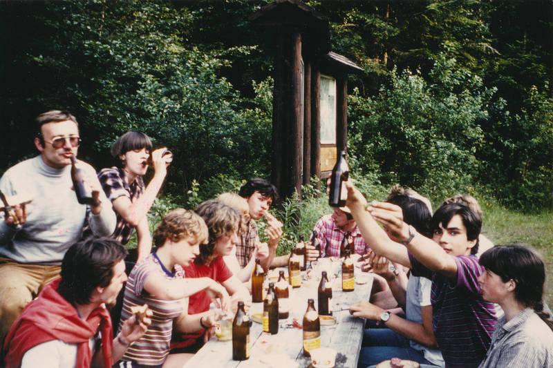 Bier, essen, Fahrradtour, freizeit, Landwirtschaft, picknick, Radtour