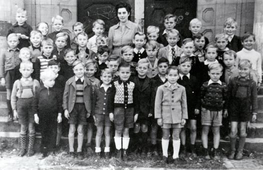 Klassenbild der Goethe Schule