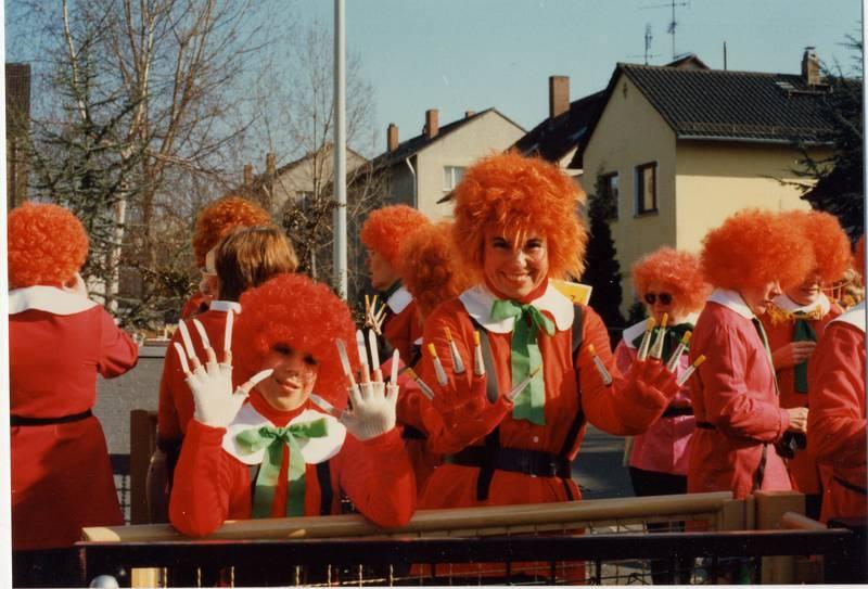 Fasching, Fasnacht, karneval, Kostheim, Kostüm, Struwwelpeter, TVK, verkleidung