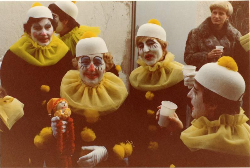 Clown, Fasching, Fasnacht, karneval, Kostüm, Mainz-Kostheim, TVK