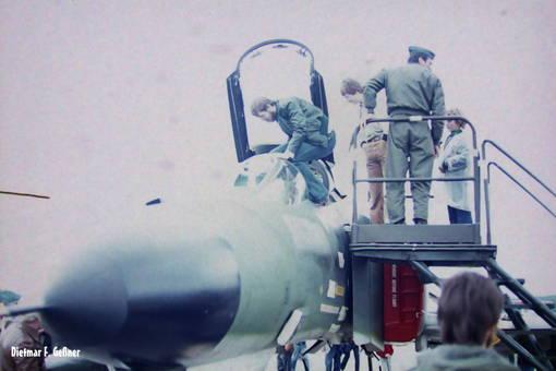 Einmal im Cockpit sitzten