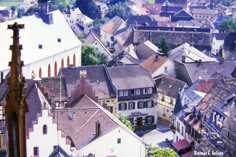 Dach, haus, Katharinenkirche