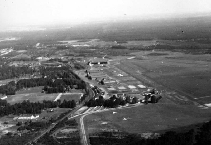 Flughafen, Luftaufnahme