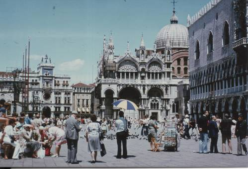 Venedigs Markusplatz