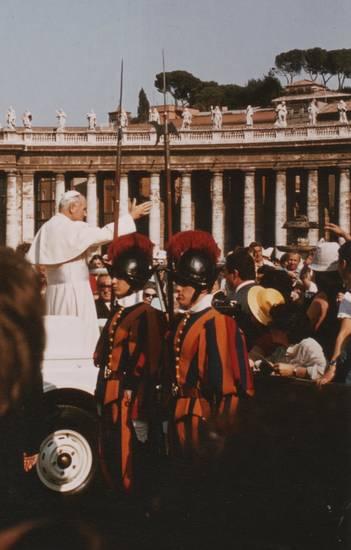 garde, Generalaudienz, Papst, Petersplatz, schweizer