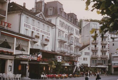 Hotels und Cafés