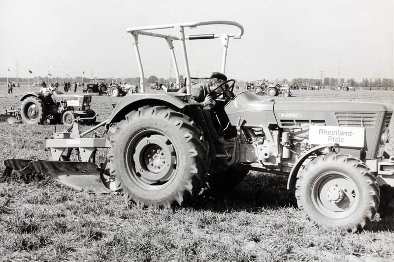 bundesentscheid, Landwirt, leistungspflügen, pflug, Pflügen, Rheinland-Pfalz, traktor