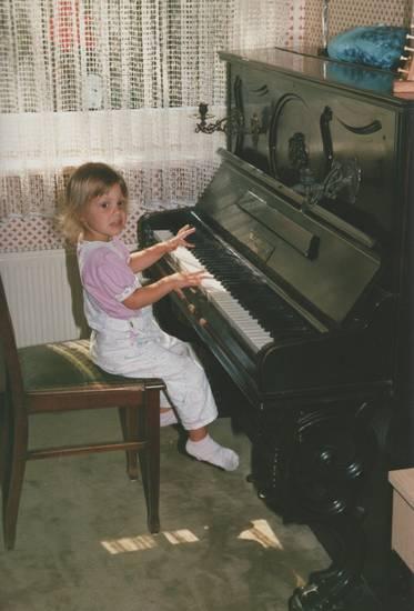 instrument, Kindheit, klavier, musik, Stuhl