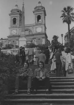 Ostern 1974 in Rom